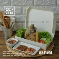 Lunch Box size XXL/take away box jumbo/paper box tebal/Box Martabak