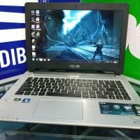 Laptop gaming Asus S46 core i7 DualVGA Ram 4Gb HDD 750 ultrabook murah