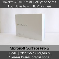 Microsoft New Surface Pro 5 i7 8Gb/256Gb FKG-00001 - Garansi 1 Tahun