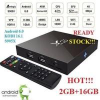 JUAL Android TV Box X96 2GB 16GB S905X Smart Internet M Berkualitas