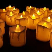 Lilin Elektrik 5 cm / Lilin Electric Tanpa Asap / Electric Candle