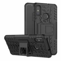 RUGGED ARMOR case Xiaomi Mi8 Mi 8 softcase casing hp cover kick stand