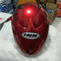 Helm ink standart model cx22 grade ori Merah Maron