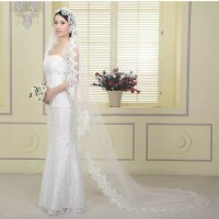 Slayer Veil Kerudung Panjang Gaun Pengantin Wedding Dress