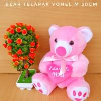 BONEKA TEDDY BEAR TELAPAK VONEL