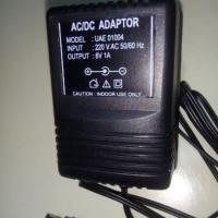 ADAPTOR 6V 1A connector 5.5x2.5 m