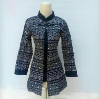 Blouse batik wanita motif tribel 02 atasan batik wanita