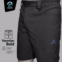 Celana Pendek/Short Pants Quickdry Stretch Pinnacle Seri Yawmian Bold