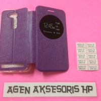 CasinG Case Flip Zenfone Go B 4 5 inchi Asus ZB452KG ZB452KL Buku HP F
