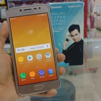 hp second samsung j2 2/32gb pro gold fullset original garansi sein i