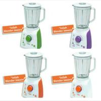 Blender TURBO Jar Plastik EHM 8099 2 Liter BONUS Dry mill Warna PURPLE