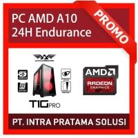 PC Rakitan Quad Core (Siap Pakai, untuk Design / Office, Tahan 24Jam)