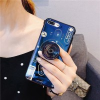 Casing Hp hocool For Samsung Galaxy J7 Prime Hot Blue Ray Popsocket
