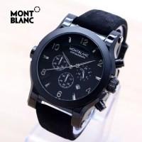 Jam Tangan Pria Montblanc Chronograph Tanggal Aktif ( Seiko Casio Gc )