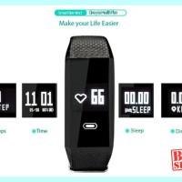 BARU F1 Wearfit Smartwatch - Smart Wristband jam tangan kesehatan