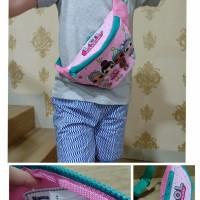 Waist Bag LOL / Tas Selempang Anak Perempuan Motif LOL/Waistbag Anak