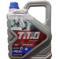 Oli Mobil Bensin Toyota Motor Oil Synthetic 10W 40 4 Liter