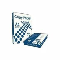 Kertas HVS A4 70Gram 70 Gram Copy Paper Fotocopy Printer