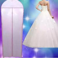 Harga cover sarung tas pelindung gaun baju pesta pengantin wedding | antitipu.com