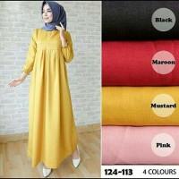 Baju Gamis Syari - Atasan Wanita Muslim Tamara - Dress Pesta Murah