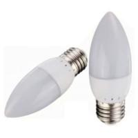 Lampu LED Candle 3W Kuning Jantung 3 W Lilin 3 Watt E27 Warm White
