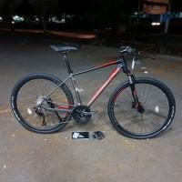 PROMO Polygon Heist 5.0 Sepeda Hybrid Rivalnya Thrill United