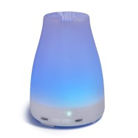 Essential Oil Aroma Diffuser Ultrasonic 7 Colorful LED Light - 100ML