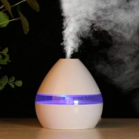 USB LED Ultrasonic Aroma Aromatherapy Humidifier- 300 ML