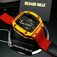 Richard Mille RM 027-03 Swiss Clone 1:1 Forge Carbon Red
