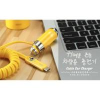 AN442 Remax Charger Mobil Minions Lightning Type C 1 USB Port - RCC211