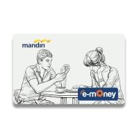 Personalisasi Kartu eMoney Mandiri dengan Disain Anda Sendiri