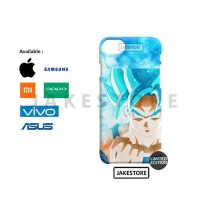 casing oppo F9 GOKU SUPER SAIYAN BLUE Anime case hardcase