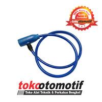 Kunci Sepeda Kabel / Sling Baja RUSH / Gembok Kabel Pengaman Sepeda