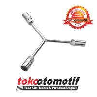 Kunci Y Panjang Putih 10 - 12 - 14 mm RUSH / Kunci Sock Socket Y Type