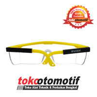 Kacamata Safety / Kacamata Las Rush Kuning / Kacamata Fashion Clear