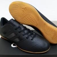 Sepatu Futsal Adidas Nemeziz Tango 18.4 Black Sole Brown