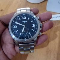 Jam Original Fos*sil Q Nate Hybrid Smartwatch kondisi Mint not Tissot