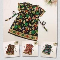 Blouse Batik Anak Perempuan AAP1 Kemeja Bahan Prada Murah