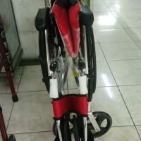 Unik Kursi roda travel AVICO / kokoh, busa empuk, dan tempat Murah