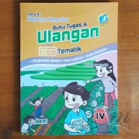 Buku Tugas dan Ulangan Tematik SD Kelas 4 Tema 9 Kayanya Negeriku