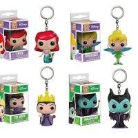 Maleficent Disney Keychain Pocket POP