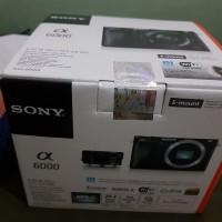 SONY ALPHA 6000 KIT 16-50mm Camera mirrorless garansi resmi