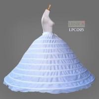Petticoat Super Ball Gown Gaun Pengantin (10 Hoop Riing)Lenka - LPC025