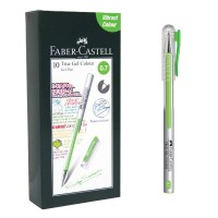 Harga faber castell true gel pen light green ink 0 7 | Pembandingharga.com
