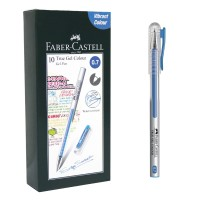 Harga faber castell true gel pen light blue ink 0 7 | Pembandingharga.com