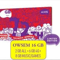 Harga voucher axis aigo owsem 16 gb 2 gb all 6 gb 4g 8 gb games | Pembandingharga.com