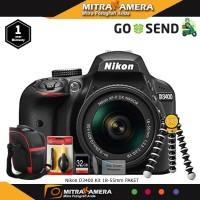 Nikon D3400 Kit 18-55mm Paket Extra