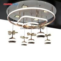 Lampu Gantung Cari Dekor LYS 8360-600 - Acrylic - 56 x 38 Cm