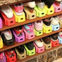 Rak Sepatu Hemat Tempat / Storage Shoes / Tempat Sepatu Unik