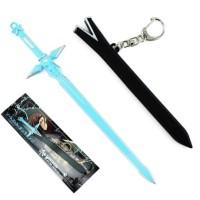 Pedang Kirito Sao Gantungan kunci Dark repulsor Blue rose Sword Eugeo